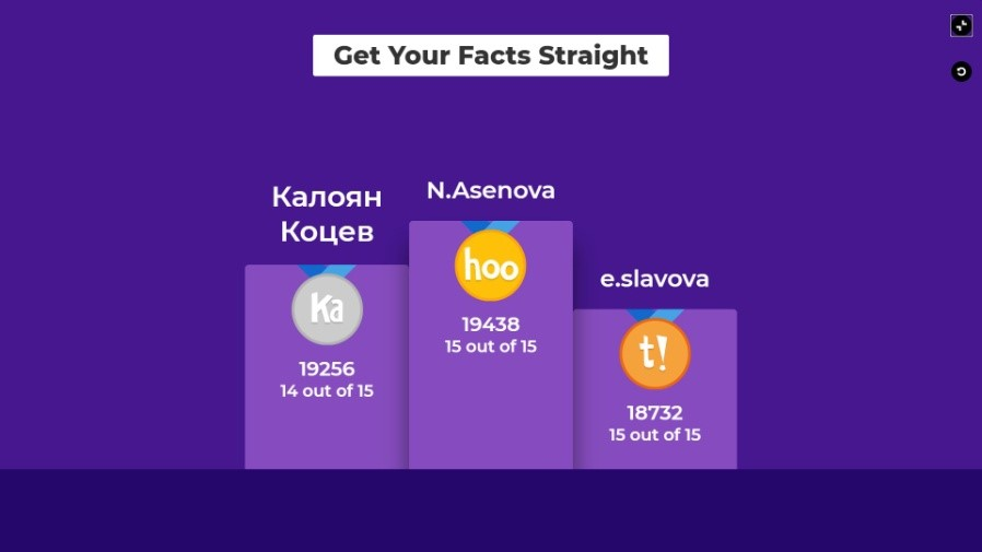 #GetYourFactsStraight during COVID-19 in Bulgaria